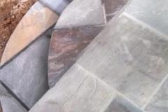 Slate Patio and Steps