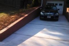 Driveway and Retaining Walls 20904