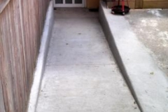 Concrete Ramp in Baltimore Maryland