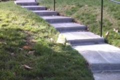 Slate Walkway, Steps, & Wrought Iron Railing in Silver Spring, Maryland