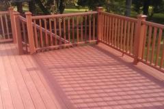 Deck with Trex Fire Pit Color