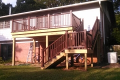 Trex Deck in Potomac Maryland