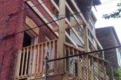 Two story deck project Washington d.c. 20010