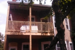 Two Story Deck in Northwest DC 20010