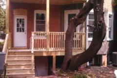 2 story deck n.w., d.c.