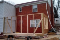 2 story home addition framing Temple Hills Maryland 20748