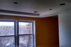 Addition Project Temple Hills Maryland with Coffer Ceiling