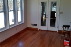 Home Addition with Bamboo Flooring & vinyl windows