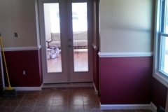 French door & Wall built for Two Story Addition Maryland