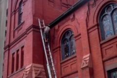 Slate Roof Repair on Methodist Church in Washington D.C.