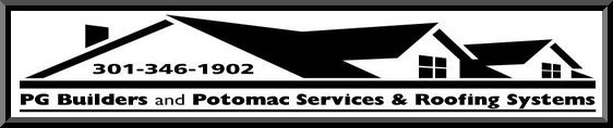 P.G. Builders Inc. and Potomac Services and Roofing Systems